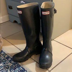 women's original Hunter tour rain boots